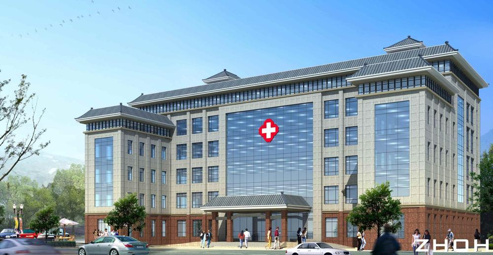 医院门诊楼装修改造工程动工 资兴市中医院